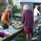 Gospelchorprobe bei Andreas (4. Juni 2013)